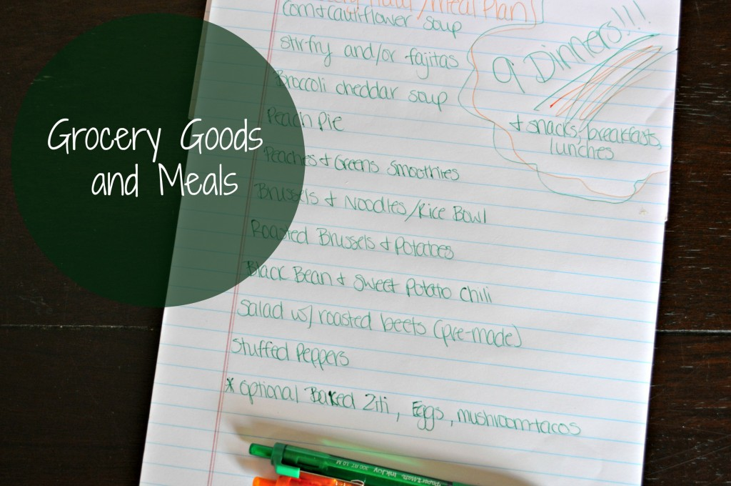 grocery meals