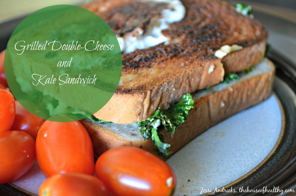 kale grilled double cheese