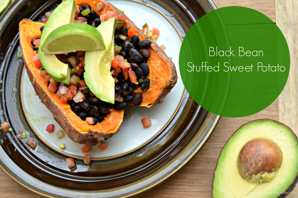black bean sweet potato