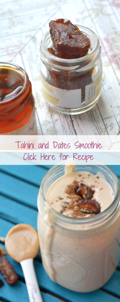 Tahini Smoothie Pinterest