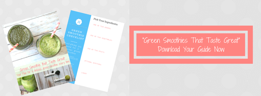 Green Smoothies Banner