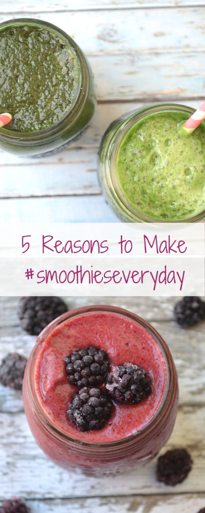 smoothies every day