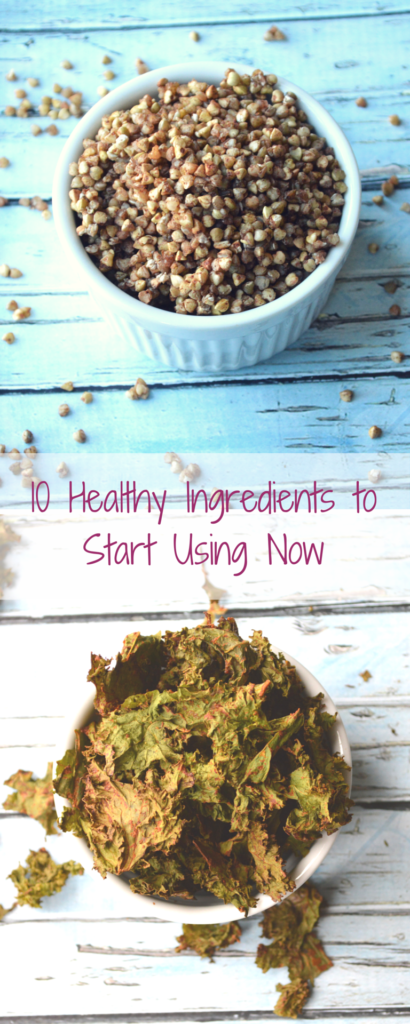 10 healthy ingredients