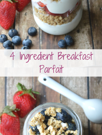 4 Ingredient Breakfast Parfait