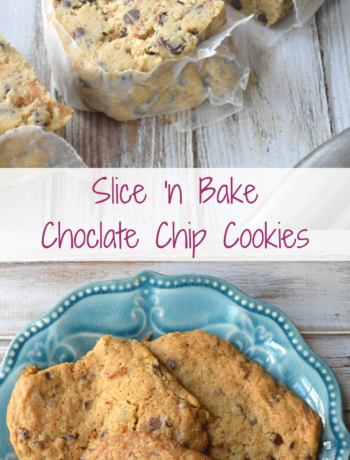 Slice'n Bake Chocolate Chip Cookies