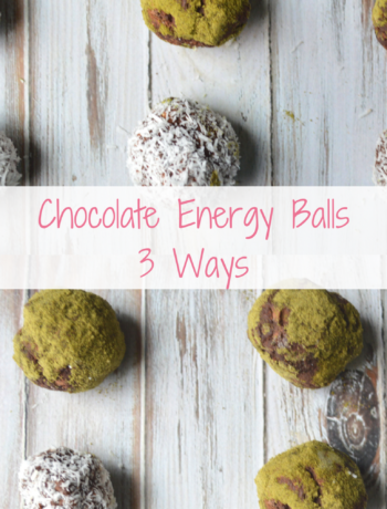 Chocolate Energy Ball Banner